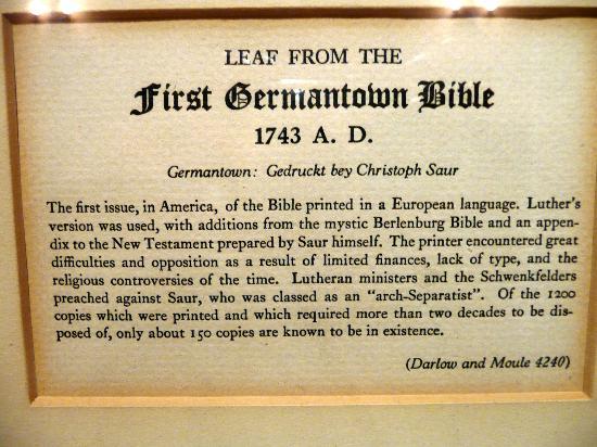 Grace Cathedral: Erste Deutsche Bibel