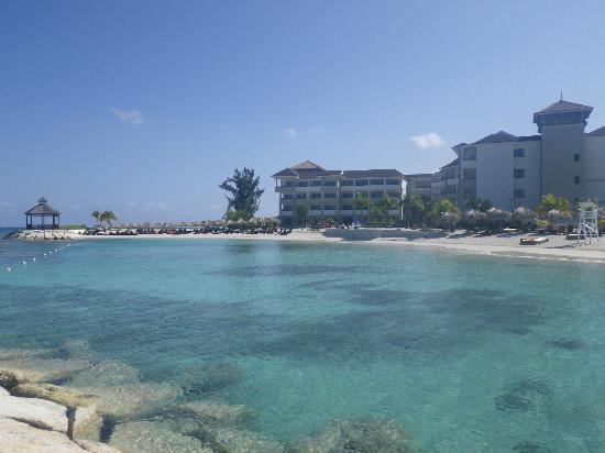 Secrets St. James Montego Bay : View of resort from Wild Orchid end