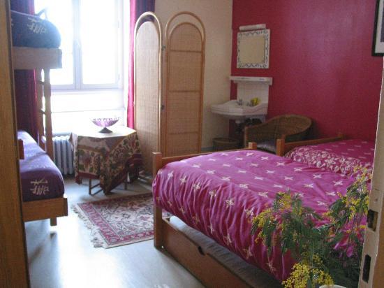 Le Rando Plume : La chambre rose