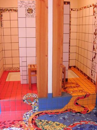 Le Rando Plume : Les douches en mosaïques