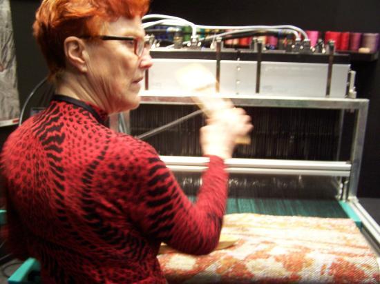 Surrey Museum : Weaving Demonstration