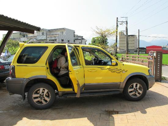Owner S Yellow Suv Pick Up From The Railway Station Picture Of