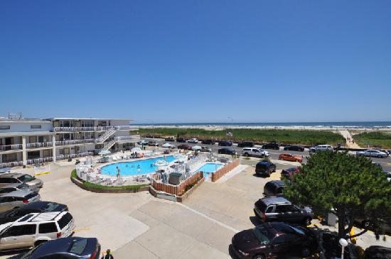 Trylon Motel: Balcony ocean view
