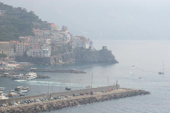 Santa Caterina Hotel : view from the terrace