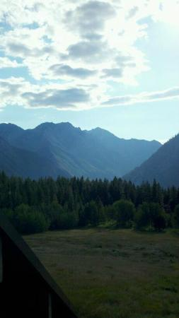 Mountain Home Lodge: View from your private balcony
