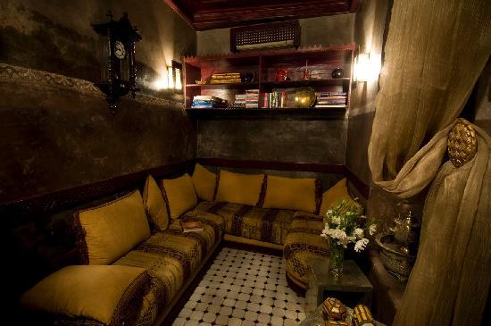 Riad El Mansour: Lounge