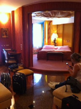 La camera con tv a tetto picture of hotel tosco romagnolo bagno di romagna tripadvisor - Week end bagno di romagna ...
