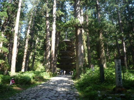 Mt. Haguro : 羽黒山五重塔
