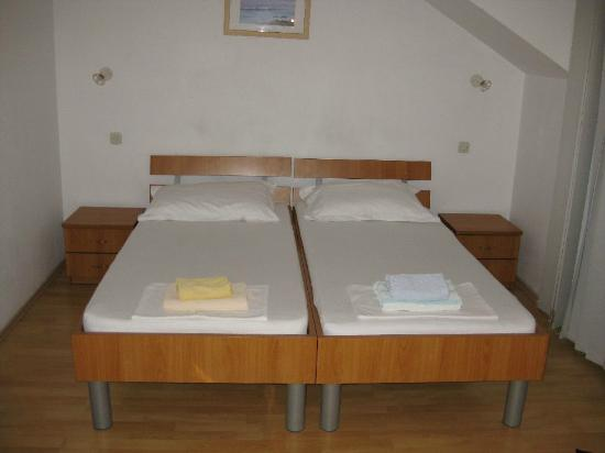 Apartments Prince Hrvoje: Camas