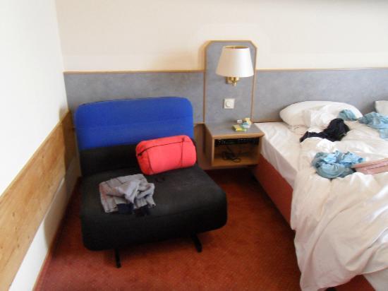 Hotel Garni Schwertfirm : Poltrona-letto