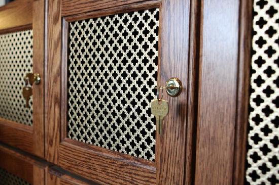 The Milias Restaurant: Private Wine Lockers