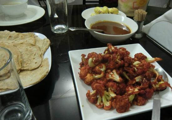 Eden Garden Heritage Homestay: A delicious supper at Eden Garden