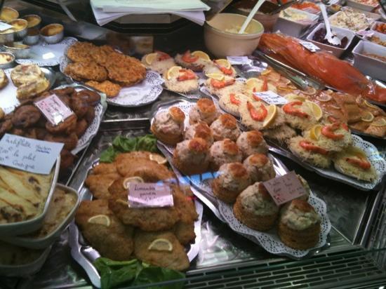 Hotel de France : the local food market