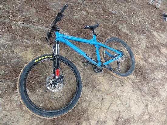 Sierra Nevada de Santa Marta : new bike we rented