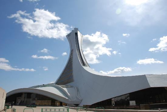 The Montreal Tower / La Tour de Montreal: Olympic Tower & Biodome