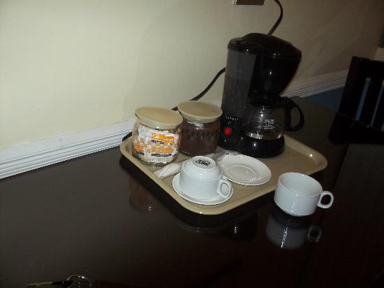 Adventure Inn: Coffee making facilities