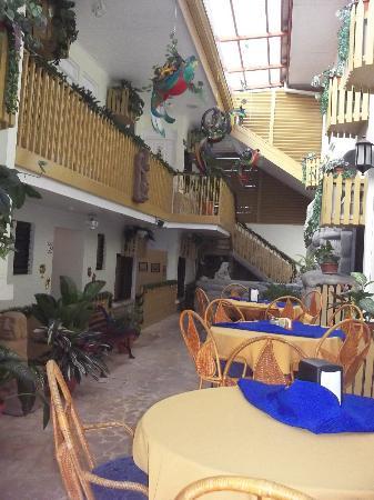 Adventure Inn: Inside the hotel