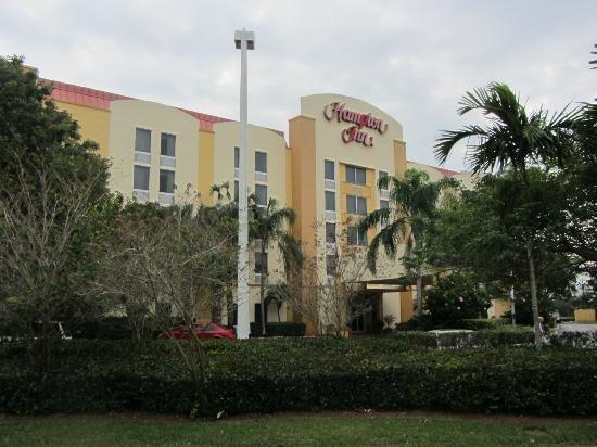 Hampton Inn Ft. Lauderdale West / Pembroke Pines: Hotel von aussen