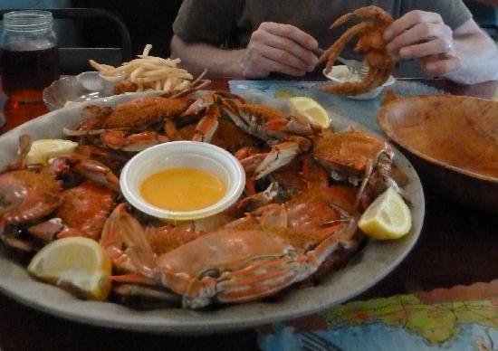Peck's Old Port Cove : excellent crab