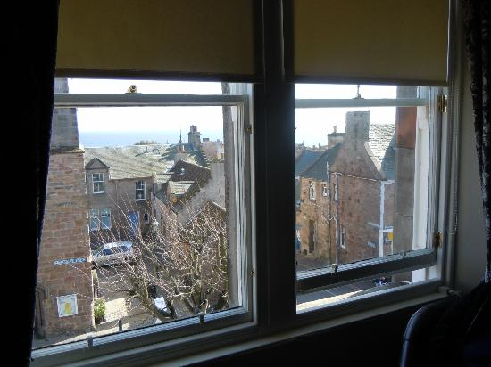 The Hazelton Guest House: View from the top windows