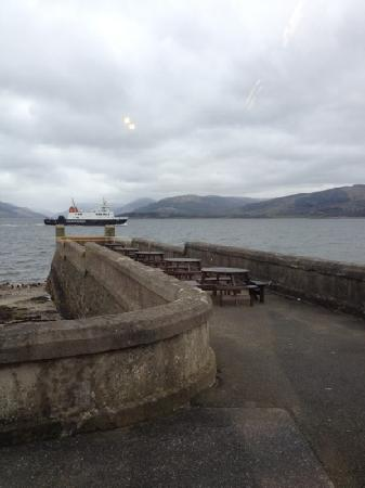 Outdoor seating for sunny days at the Pier at Craigmore