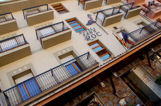 Camprodon, Spain: fachada del hotel sant roc