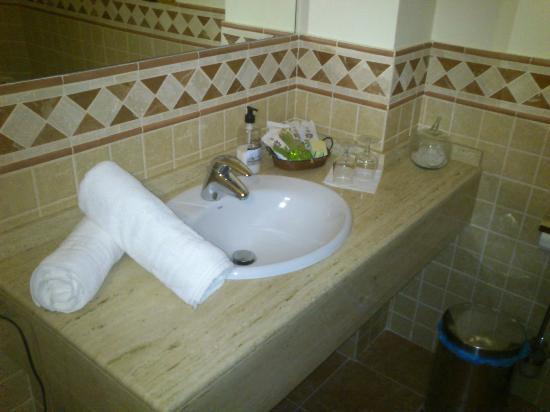 Casa Julia Hotel Restaurant: Detalle del lavabo