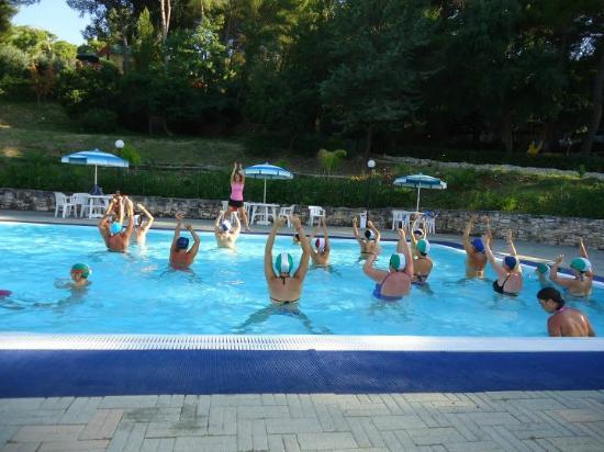 Camping Villaggio Internazionale: AcquaGym 2011