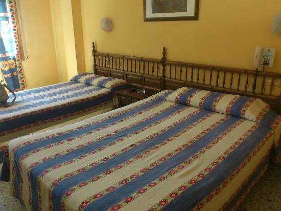 Hotel Austria: camas