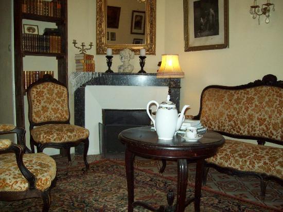 Villa Bastide: la bibliothèque