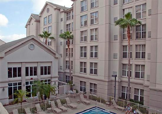 Homewood Suites Orlando-International Drive/Convention Center: View from our room.
