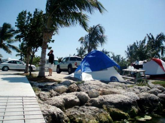 Boyd's Key West Campground: tents