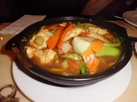 Peter Chang's China Grill: Claypot Vegetable