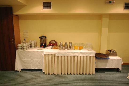Hotel Giamandes: Πρωϊνό