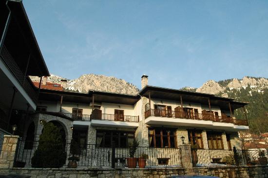 Hotel Giamandes: Άποψη