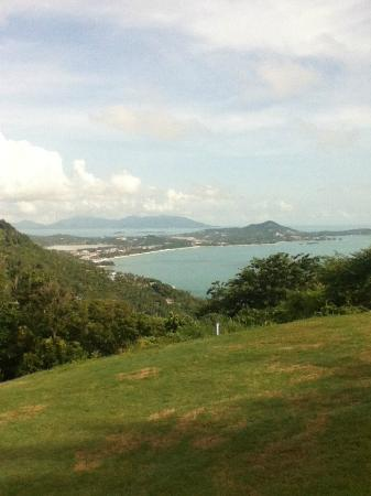 Royal Samui Golf and Country Club: a view from the course