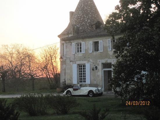 Château De Puyrigaud : Una sera di marzo per caso.