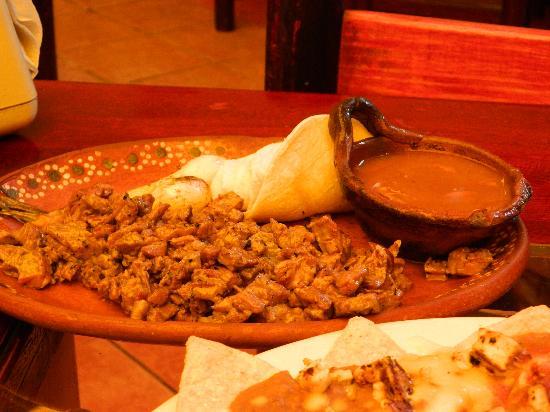 El Sarape: Arachera Fajitas (the best meat)