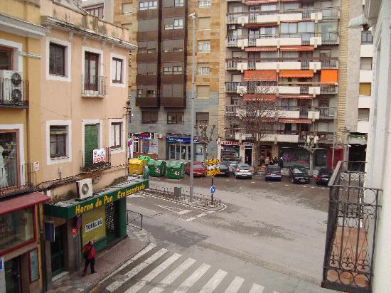 Hostal Canovas : Vista al otro lado