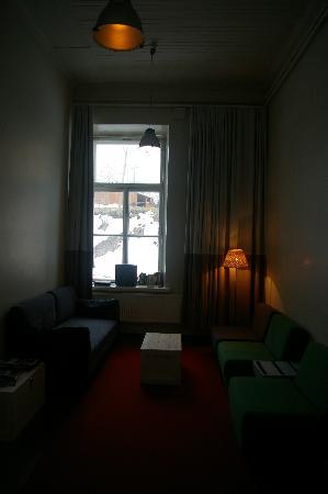 Hostel Suomenlinna: Lounge