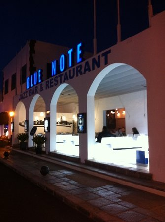 Blue Note Lanzarote: fine food, music and atmosphere