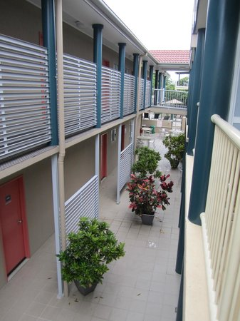 Toowong Inn & Suites: View from loft room balcony