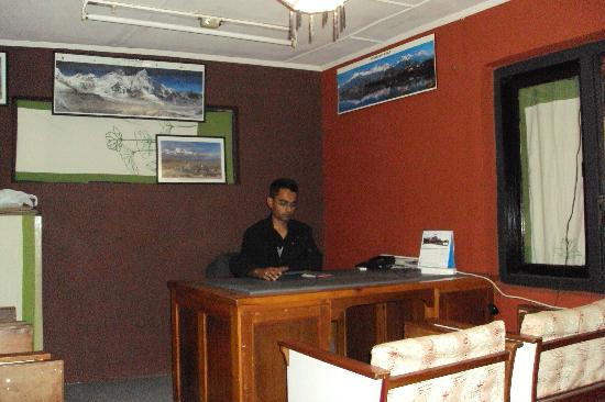 Pariwar B&B: Hotel manager office