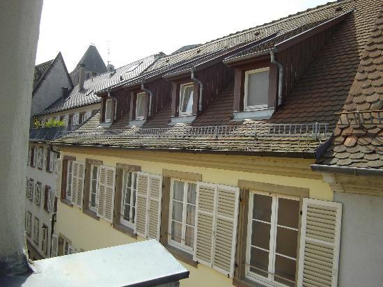 ETC Hotel : on est dans le vieux strasbourg, les rues sont étroites