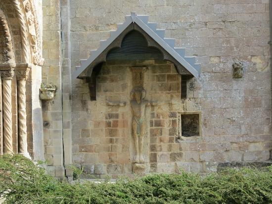 Romsey Abbey: Christ on the cross