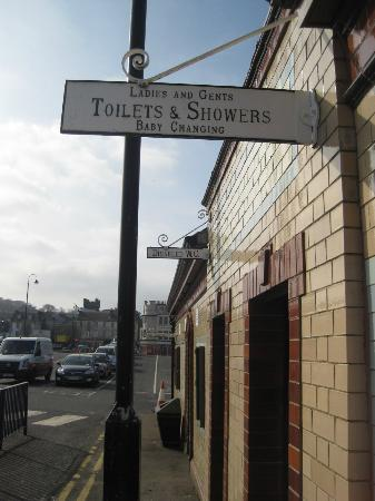 Rothesay's Victorian Toilets: outside the loos