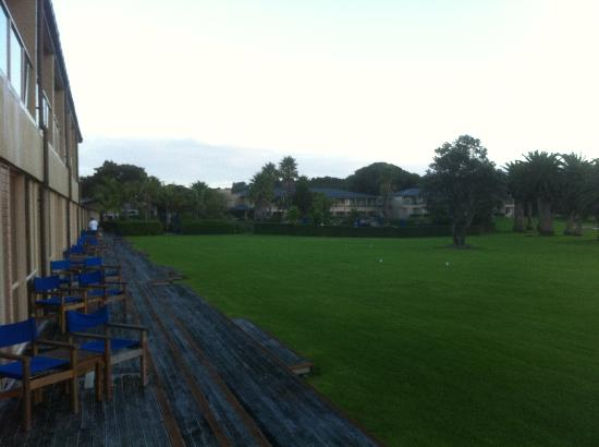Copthorne Hotel & Resort Bay of Islands: Looking toward hotel