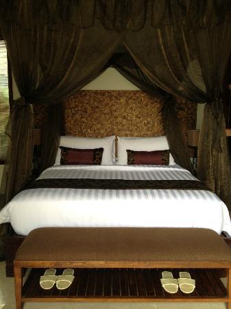 Mahagiri Villas Dreamland: very comfy bed and mozzie net was great :)