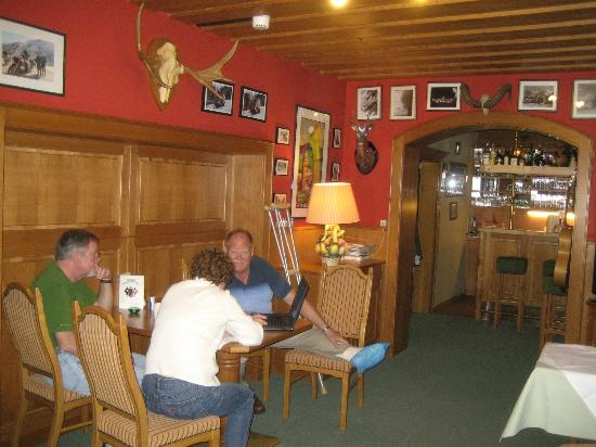 Chalet Strasshofer: Bar area
