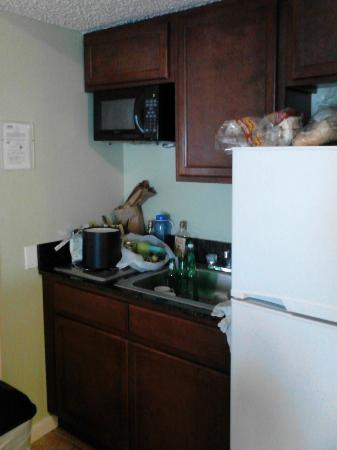 Chesapeake Beach Resort: Kitchenette